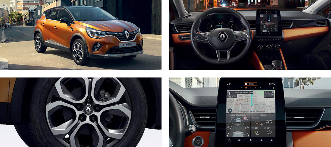 Fond e-guide Captur E-TECH Hybride